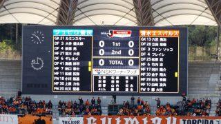 試合結果|磐田 0-0 清水