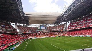 ゴール裏椅子席からの眺め|豊田スタジアム