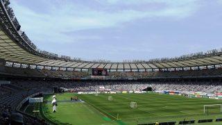ゴール裏席からの眺め|味の素スタジアム