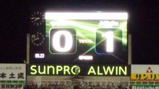 試合結果|松本 0-1 磐田