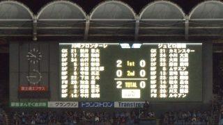 試合結果|川崎 2-0 磐田