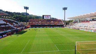 ゴール裏(2F)席からの眺め|IAIスタジアム日本平