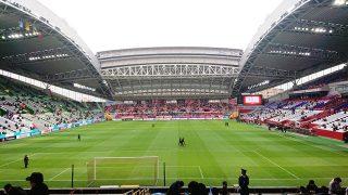 ゴール裏席からの眺め|ノエビアスタジアム神戸
