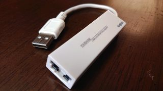 USBポート⇔LAN変換アダプタ