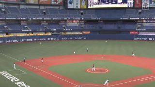 外野席がガラガラの大阪ドーム|2020プロ野球開幕!