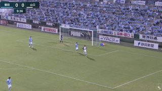 ゴール裏席|2020 J2 第4節 磐田vs.山口@ヤマハスタジアム