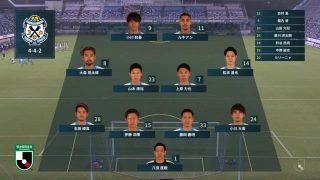先発メンバー|2020年J2リーグ レノファ山口戦@ヤマハスタジアム(磐田)