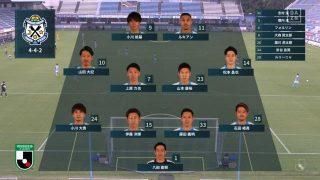スターティングメンバー|2020年J2リーグ ファジアーノ岡山戦@ヤマハスタジアム(磐田)