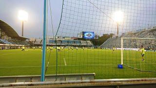 最前列の席から|2020 J2 第4節 磐田vs.山口@ヤマハスタジアム