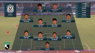先発メンバー|2020年J2リーグ 愛媛FC戦@ニンジニアスタジアム