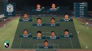 先発メンバー|2020年J2リーグ 第13節 町田戦@町田GIONスタジアム