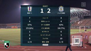 試合結果|愛媛 1-2 磐田