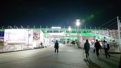味の素スタジアム(遠景)|2020 J2 第28節 東京V vs. 磐田