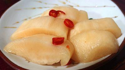 自家製ピリ辛大根|まるじゅう田中漬物食品