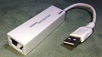 USB優先LANアダプタ