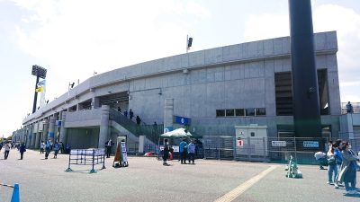 スタジアムの外観|相模原ギオンスタジアム