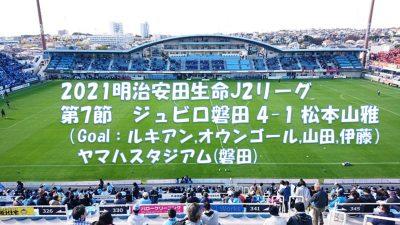 試合結果|磐田 4-1 松本