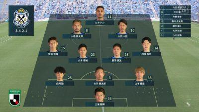 先発メンバー|2021年J2リーグ 第11節 磐田 vs. 栃木