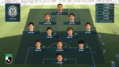 先発メンバー|2021年J2リーグ 第16節 磐田 1-0 金沢