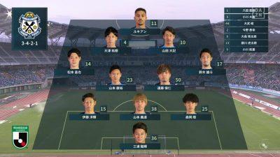 先発メンバー|2021年J2リーグ 第21節 磐田 vs. 新潟