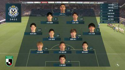 先発メンバー|2021年J2リーグ 第25節 磐田 vs. 東京V