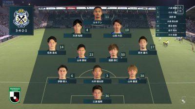 先発メンバー 2021年J2リーグ 第31節 磐田 vs. 琉球